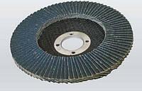 Круг шлифовальный лепестковый 125х22 мм Р60 конический Zr/O