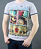 Светлая футболка на лето