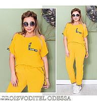 Прогулянковий костюм штани з футболкою р-ри 50-60 арт. 225