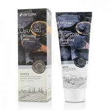 3W CLINIC Пенка для умывания Черный уголь charcoal Cleansing Foam 100 мл