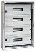 Шкаф ударопрочный из АБС-пластика e.plbox.350.500.195.45m.tr 350х500х195мм IP65 с прозрачной дверцей и панелью