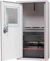 Шкаф металлический под 1-ф. счетчик 8 модулей навесной с замком