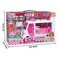Набор с куклой К5622 LOL ЛОЛ Передвижная закусочная 2 куклы аксессуары