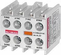 Дополнительный контакт e.industrial.au.m.22 2nc+2no