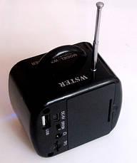 Радио Digital Speaker Mini WS-575 с USB, фото 3