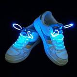 Світяться шнурки KS Disco Blue SKL25-150694, фото 2