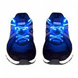Світяться шнурки KS Disco Blue SKL25-150694, фото 3