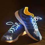 Світяться шнурки KS Disco Blue SKL25-150694, фото 4