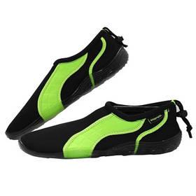 Взуття для пляжу і коралів аквашузы SportVida Size 43 Black/Green SKL41-277871