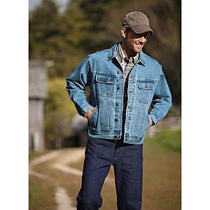 Джинсова чоловіча куртка Wrangler великі розміри р. ХL