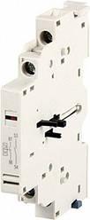 Блок контактов боковой для АЗД (04-32) e.mp.pro.ad.0101: дополнительный 1NC + сигнал 1NC