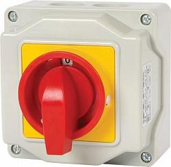 Пакетный переключатель LK25/2.211-ОК/45 в корпусе (пломбируемый) 2p 0-1 25А IP44
