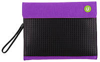 Клатч для планшета Upixel Пурпурно-черный
