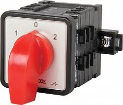 Пакетный переключатель LK63/4.322-SP/45 щитовой на DIN - рейку 4p 0-1-2 63А