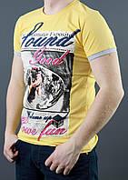 Модная мужская летняя футболка