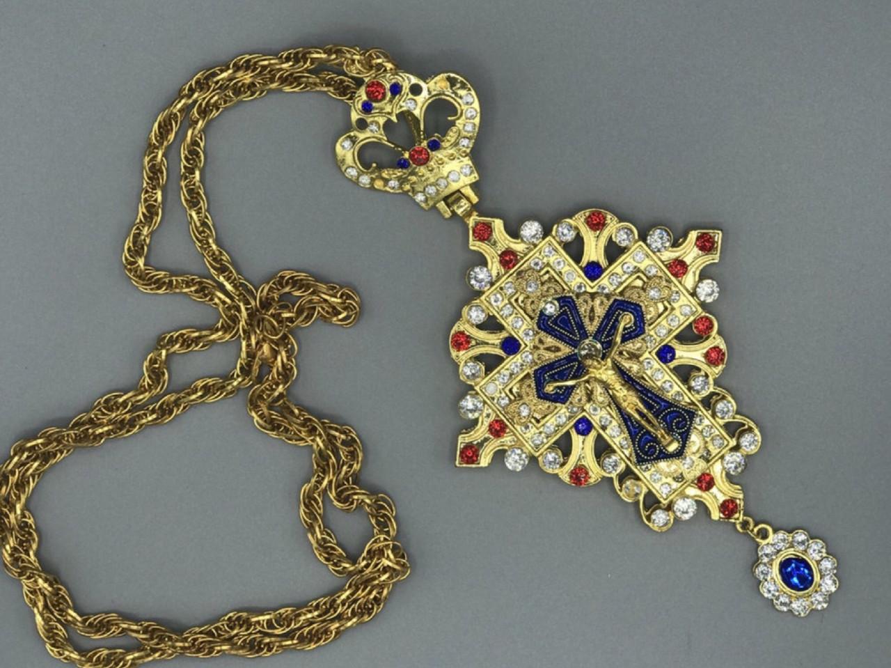 Наперсный крест Православный