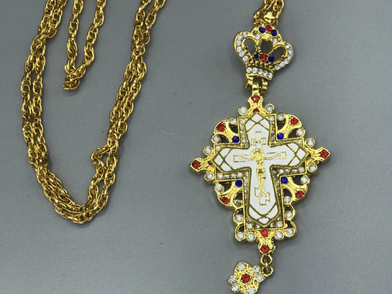 Крест Священнослужителя, белый
