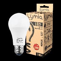 LED лампа Ilumia низьковольтна 10W 24V Е27 A60 4000К нейтральний 1000Lm (075)