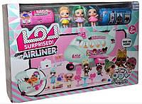 Набор кукла L.O.L. K 5632 кукла Лол LOL с самолетом 55 сюрпризов