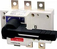 Выключатель-разъединитель нагрузки e.industrial.ukg.500.3 3р 500А с фронтальной рукояткой управления