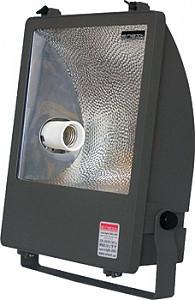 Прожектор под металогалогенную лампу 400Вт черный асимметричный