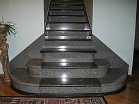 Лестницы из гранита. Ступени, плитка гранитная