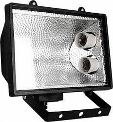 Прожектор e.save.light.2e27.1000.black под энергосберегающую лампу 2 патрона Е27 черный