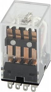 Реле проміжне 3А 110В AC на 4 групи контактів, E. Next