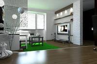 Дизайн проект двухкомнатной квартиры панельный дом