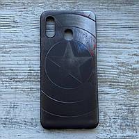 Силиконовый чехол Капитан Америка для Samsung Galaxy A20