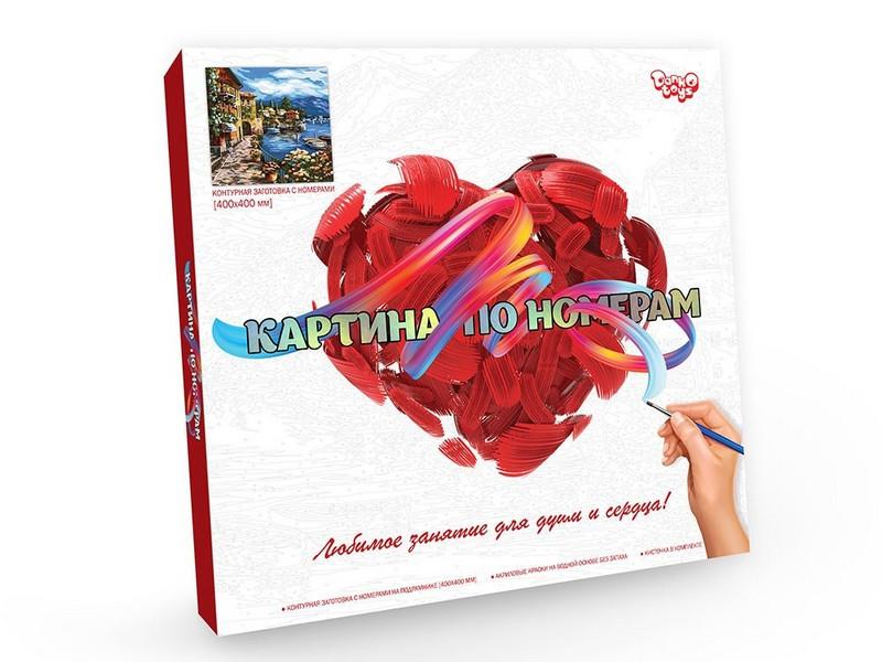 Картина по номерам 40*50см Danko Toys, без коробки