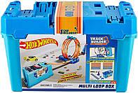 Трек Хот Вілс Гра без кордонів - Коробка для трюків Петля 3 в 1 Hot Wheels Track Builder Multi Loop Box, фото 1
