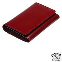 Женское кошелёк из натуральной кожи Stefania,портмоне красного цвета