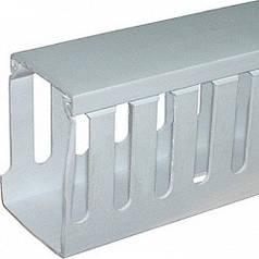 Короб пластиковый перфорированный e.trunking.perf.stand.30.30 30х30мм 2м