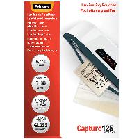 Пленка для ламинирования Пленка для ламинирования глянец 65-95 мм 125мкм 100 шт.Fellowes f.53067 (f.53067 x