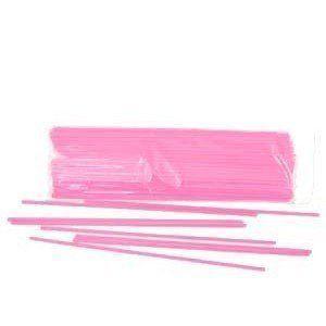 Палочка с насадкой для шариков розовая  100 шт.