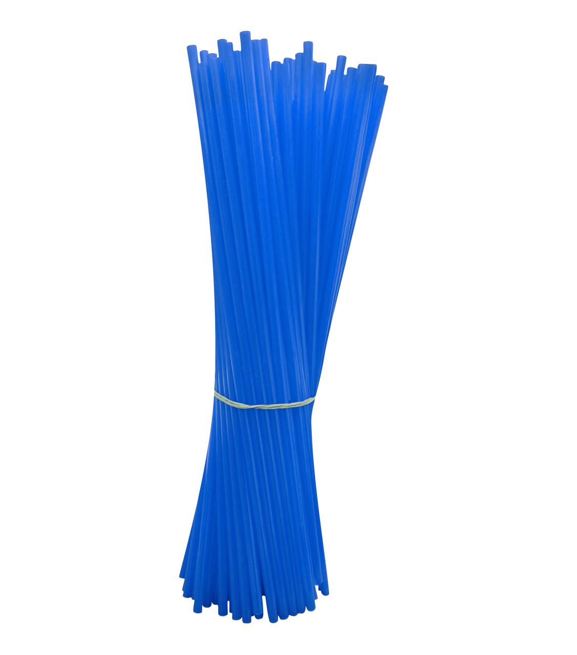 Палочка с насадкой для шариков синяя  100 шт.
