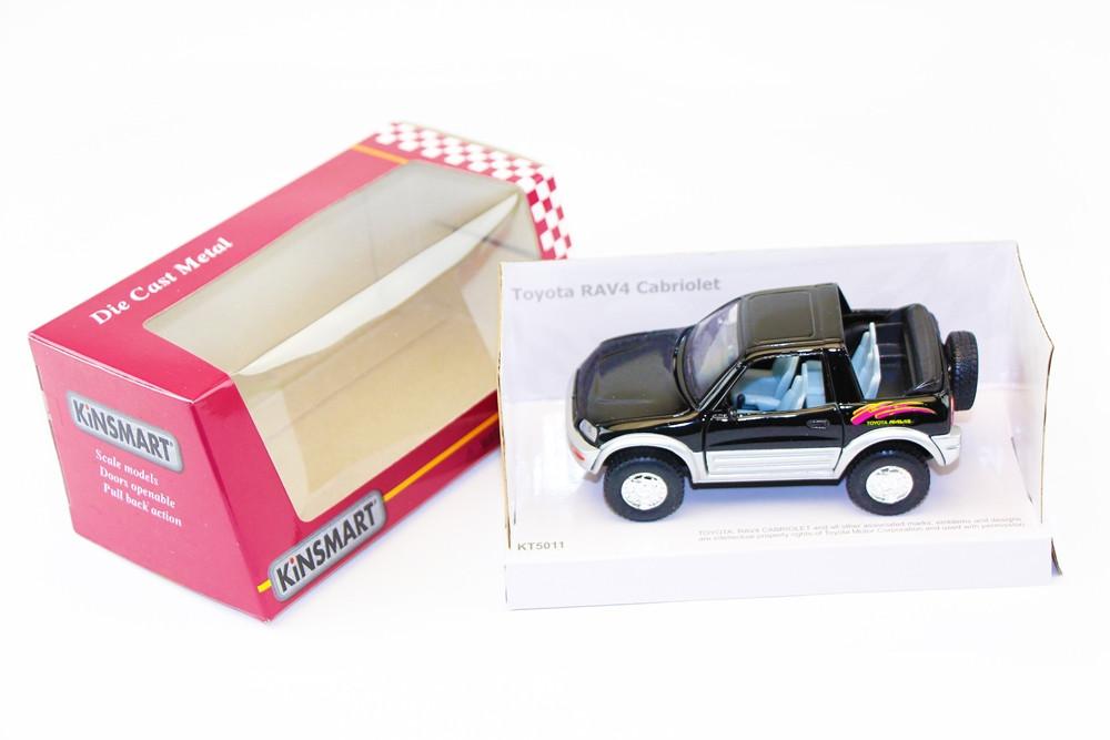 "KINSMART Мет. машина ""Toyota Rav 4 Cabriolet"""