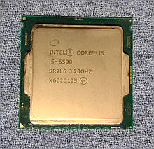 Процесор Intel i5-6500, 3.2GHz, 4 ядра, 4 потоки, сокет LGA1151