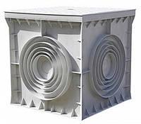 Колодец кабельный пластиковый e.manhole.400.400.400.cover 400х400х400мм с крышкой