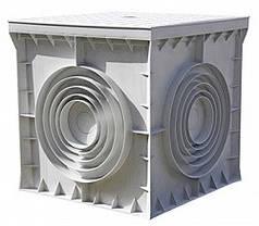 Колодец кабельный пластиковый e.manhole.200.200.200.cover 200х200х200мм с крышкой