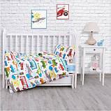 Комплект постельного белья  для мальчиков Городское движение, фото 3