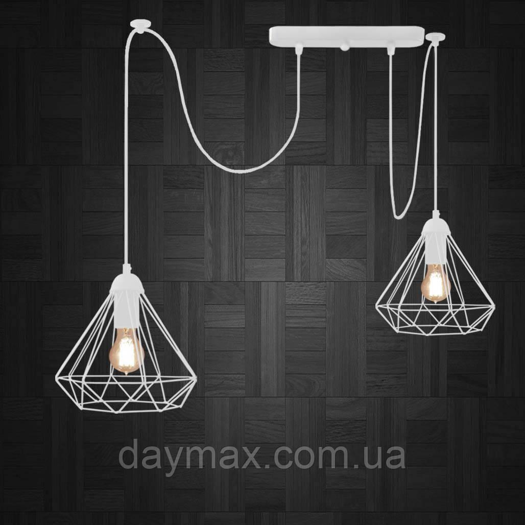 Подвесной светильник на 2-лампы DIAMOND/SP-2 E27 белый