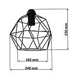 Підвісна люстра на 2-лампи ANTHILL-2 E27 білий, фото 3