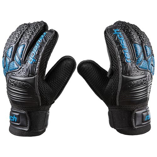 Вратарские перчатки черные Latex Foam REUSCH, р.6