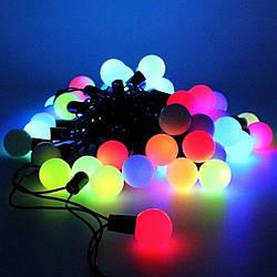 Гирлянда светодиодная внутренняя Leds Шарики-Big 4м 40 LED 100256GR ES, КОД: 2449206