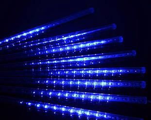 Гирлянда Падающая звезда 30 см Синяя ES, КОД: 2457928