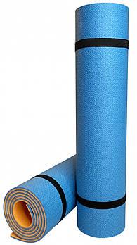 Килимок Optima Plus (синьо-помаранчевий)