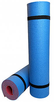 Килимок Optima Plus (черешня-синій)