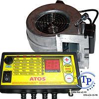 Комплект автоматики для твердотопливного котла ATOS + турбина WPA120